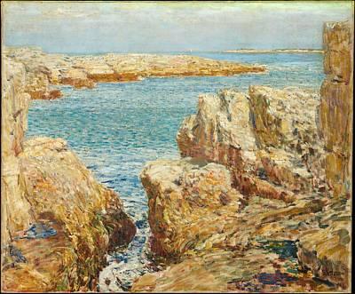 East Hampton Painting - Coast Scene by Childe Hassam