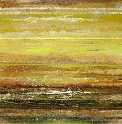 Coast Series Yellow Am9 Art Print by Mike   Bell