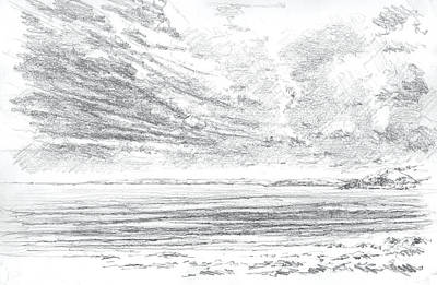 Coast Southwest Print by Al Cazu Alan Williamson