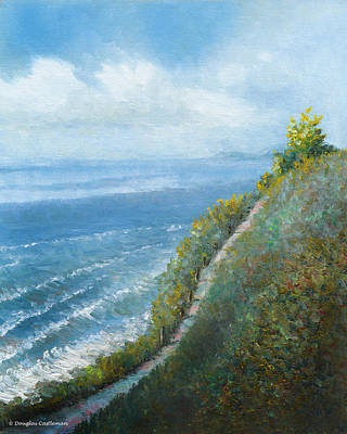 Painting - Coast Trail by Douglas Castleman