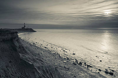 Coast With A Lighthouse Art Print by Panoramic Images