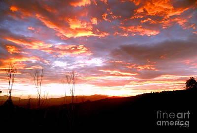 Costa Rican Mountain Valley Sunset Original