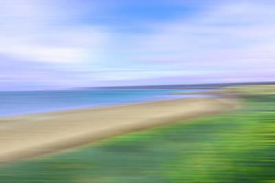 Photograph - Coastal Abstract by Gill Billington