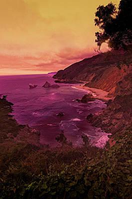 Photograph - Coastal Big Sur View by Joseph Hollingsworth