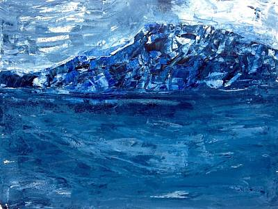 Painting - Coastal Blues - Back Home by Desmond Raymond