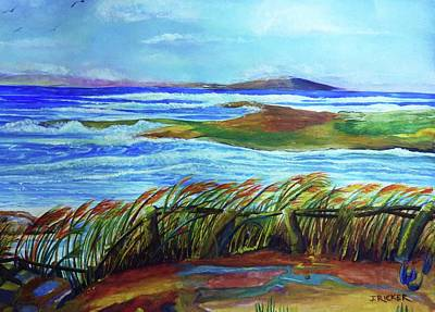 Painting - Coastal Winds by Jane Ricker
