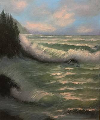 Painting - Coastal Breeze by Natascha de la Court