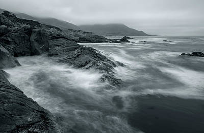Photograph - coastal BW by Jonathan Nguyen