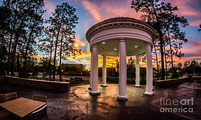 Photograph - Coastal Carolina University Sunset by David Smith