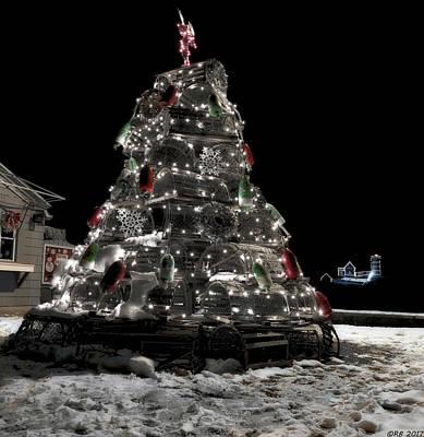 Photograph - Coastal Christmas by Richard Bean