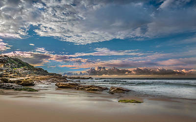 Maroubra Photograph - Coastal Clouds by Evan Christie