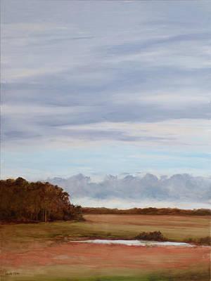 Painting - Coastal Clouds by Glenda Cason