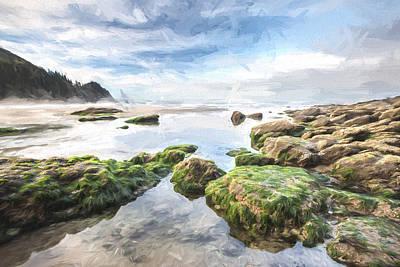 Coast Digital Art - Coastal Colors II by Jon Glaser