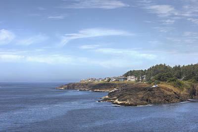 Coastal Landscape Photograph - Coastal Community by Kristina Rinell