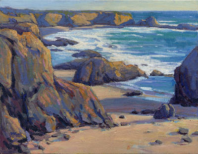 Painting - Coastal Cruising 7 / San Simeon by Konnie Kim