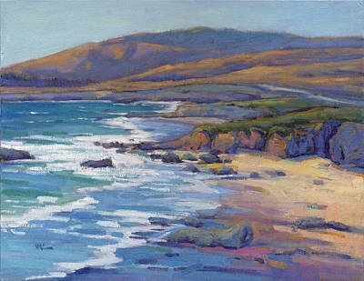 Painting - Coastal Cruising 8, San Simeon by Konnie Kim