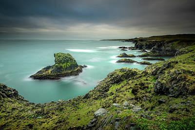 Photograph - Coastal Curves by Josh Eral