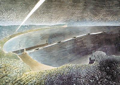 Coastal Defences Art Print by Charlie Ross