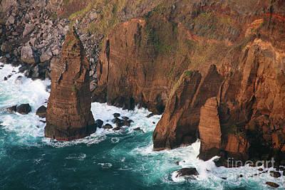 Redish Photograph - Coastal Detail by Gaspar Avila