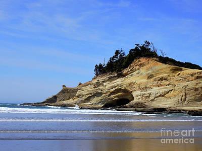 Thomas Kinkade Rights Managed Images - Coastal Dunes Royalty-Free Image by Scott Cameron