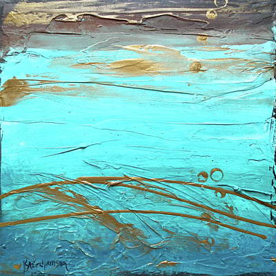 Painting - Coastal Escape II by Kristen Abrahamson
