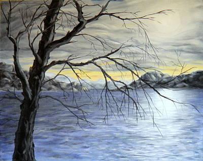 Coastal Evening Art Print