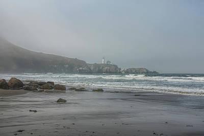 Photograph - Coastal Fog by John M Bailey