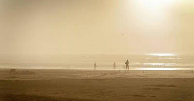 Photograph - Coastal Fog Silhouettes by Dee Browning