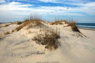 Coastal Formation Art Print by Kelvin Booker