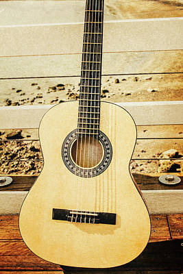 Photograph - Coastal Guitar Fine Artwork by Jorgo Photography - Wall Art Gallery