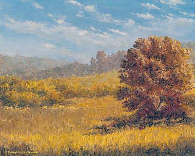 Painting - Coastal Hills by Douglas Castleman