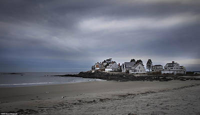 Photograph - Coastal Homes Kennebunkport  by Debra Forand
