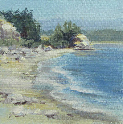 Painting - Coastal Inlet by Karen Ilari