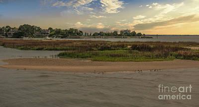 Photograph - Coastal Island Lifestyle by Dale Powell