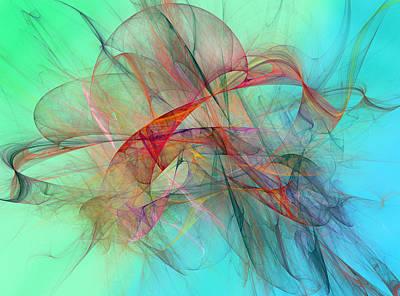 Coastal Kite Print by Betsy C Knapp