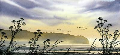 San Juan Painting - Coastal Landscape by James Williamson