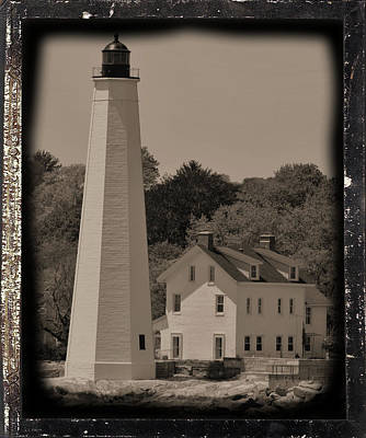 Photograph - Coastal Lighthouse 2 by Charles HALL
