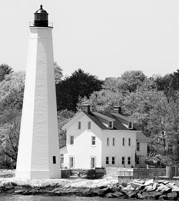 Photograph - Coastal Lighthouse by Charles HALL