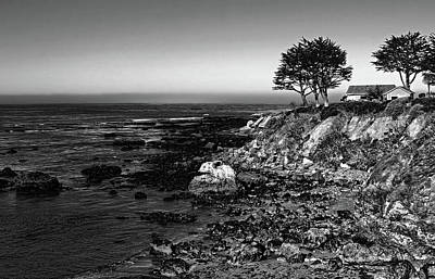 Photograph - Coastal Living Black And White by Judy Vincent