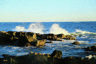 Photograph - Coastal Maine by Dennis Baswell