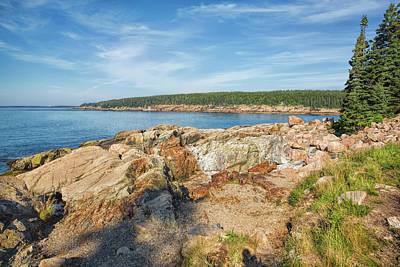 Photograph - Coastal Maine by John M Bailey