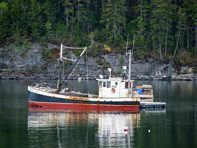 Photograph - Coastal Maine  by Trace Kittrell