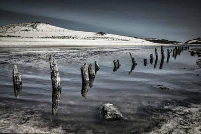 Photograph - Coastal Memories In Black And White by Debra and Dave Vanderlaan