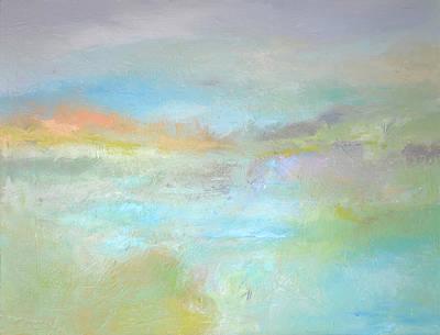 Coastal Mist Art Print by Filomena Booth