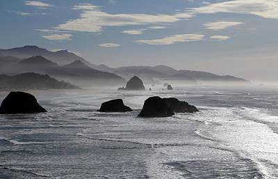 Coastal Mist Art Print by Randall Brewer
