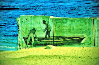 Photograph - Coastal Mural by Pacific Northwest Imagery