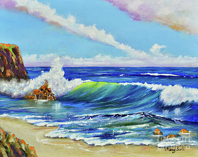 Painting - Ocean Blue by Mary Scott
