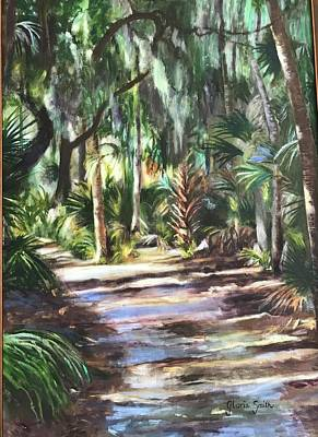 Painting - Coastal Path by Gloria Smith