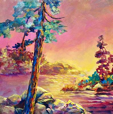 Painting - Coastal Pine by Bonny Roberts