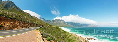 Photograph - Coastal Road South Africa by Tim Hester
